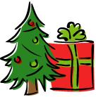Enlèvement des couronnes de l'Avent et des sets cadeau / Abholung der Adventskränze und Geschenkesets