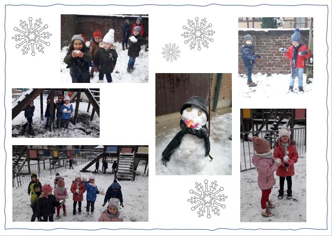 Winter im Kindergarten / L'hiver à l'école maternelle