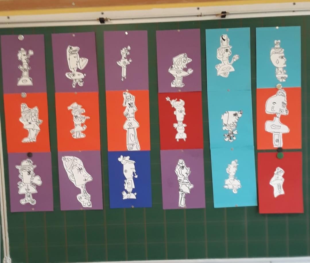 Die Picassos der Mittelstufe