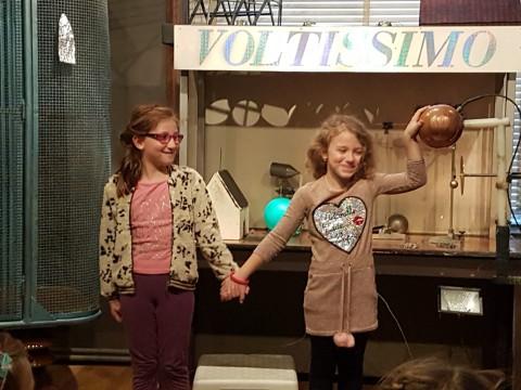 Notre visite à la Maison de la Science.