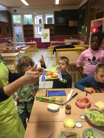 Une collation saine pour les élèves de 2ème année