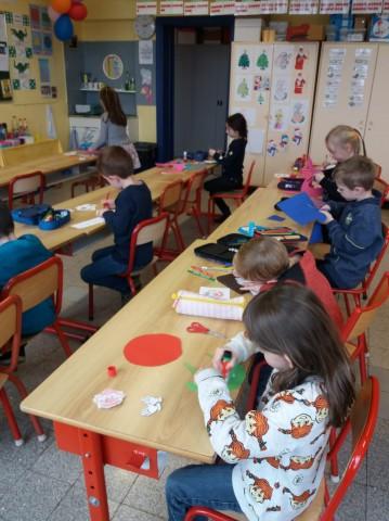 Die Bären des Kindergartens in der Unterstufe