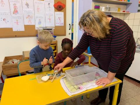 Techniktürme im 3. Kindergarten