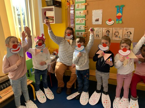 """Bei den Bären im Kindergarten ist der """"Clown"""" los"""