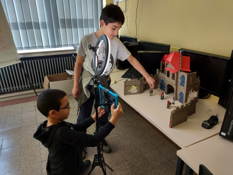 Das Medienprojekt unserer Schule - Le projet média de notre école
