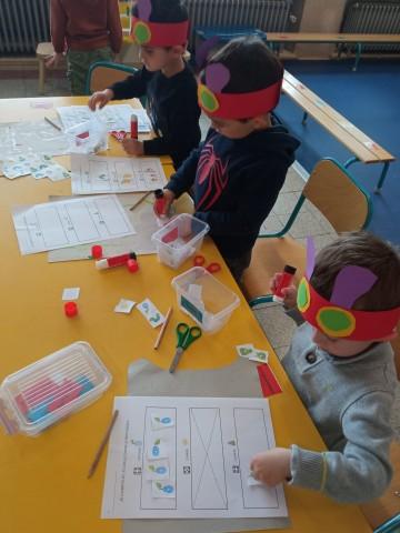 Der Kindergarten auf Entdeckungsreise mit der Raupe Nimmersatt