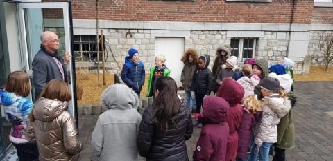 Unser Besuch im Gemeindehaus